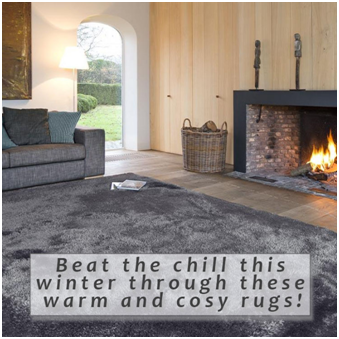 Beat the chill this winter through these warm and cosy rugs!