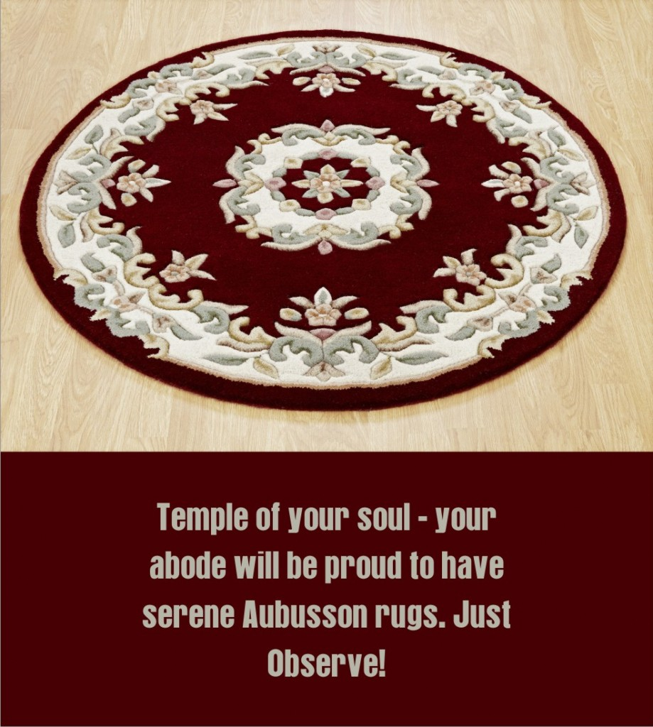 Aubusson Rugs at it's best