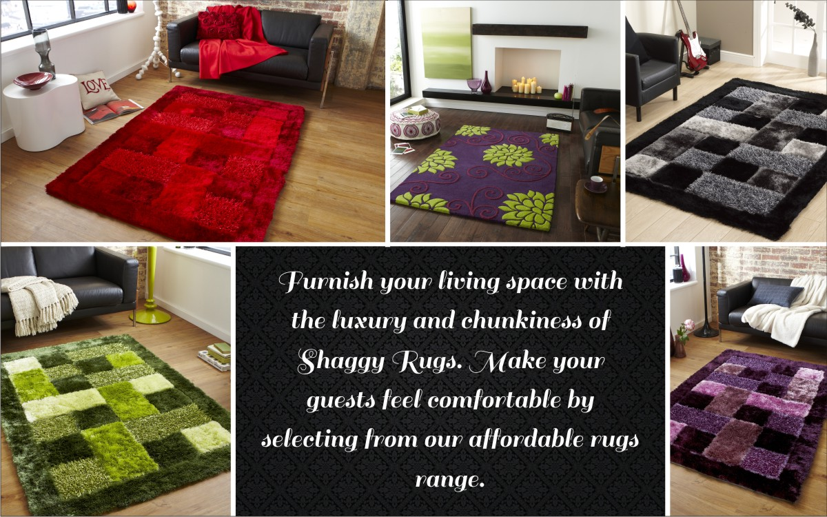 Points to remember before buying a Shaggy Rug