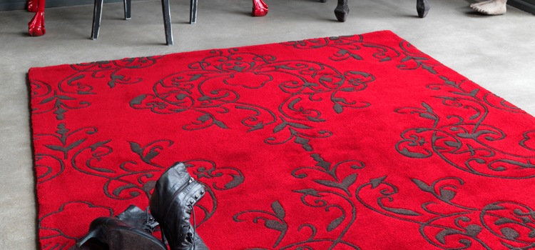 Make your place cozy with Red Rugs