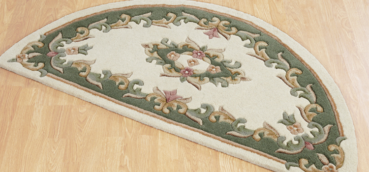 Semi Circle Rugs: Half moon rugs adds beauty at your place