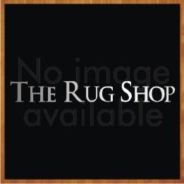 Nomadic NOM02 Red Blue Wool Circle Rug by Plantation Rug