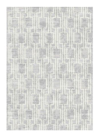 Shop Galleria 063 0597 7969 Grey Geometric Rug Therugshopuk
