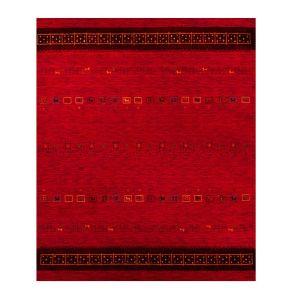 1539-200 Lori Dream Gold Red Harmony Wool Rug by Theko