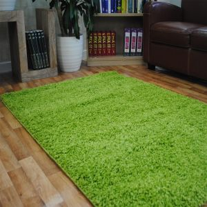Green 0906 Glasgow OPUS Luxury Shaggy Rug 1