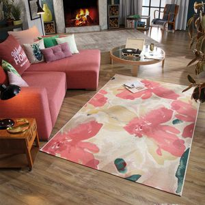 255 Blossom Rose Multi Garden Rug by Tom Tailor