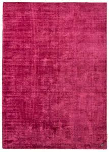 260 Shine Uni Berry Rug by Tom Tailor