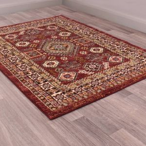 5568 Cashmere Red Rug by HMC