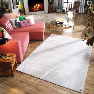 640 Powder Uni Silver Rug by Tom Tailor