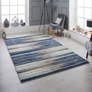 82 L Sansa Blue Rug by Oriental Weavers
