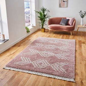 Think Rugs Boho 8886 Rose Rug