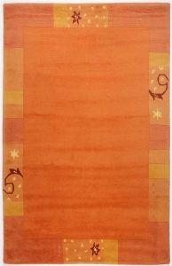 991-450 Ganges Terra Harmony Wool Runner by Theko