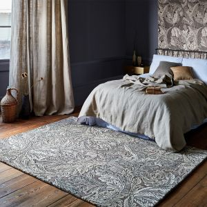 Acanthus 126904 Mole Abstract Rug by Morris & CO.