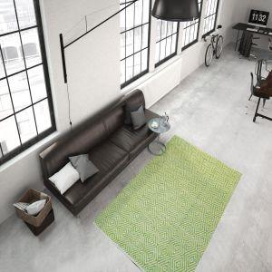 Aperitif 310 Green Modern Rug by Kayoom