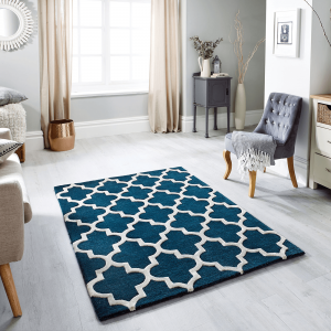 Arabesque Emerald Rug by Oriental Weavers