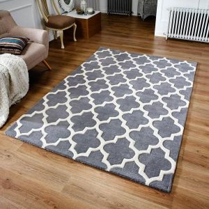 Arabesque Grey Rug by Oriental Weavers