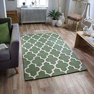 Arabesque Sage Green Rug by Oriental Weavers