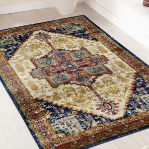 Ashley Ivory Persian Rug by Floorita