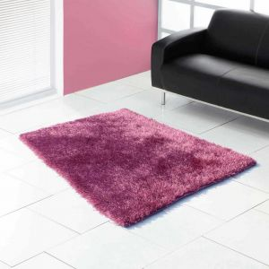 Boston Heather Shaggy Rug by Ultimate Rug