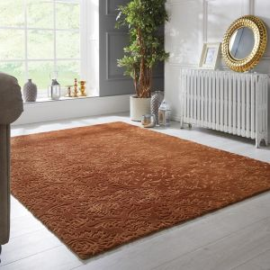 Barada Damascus Gold Rug by Flair Rugs