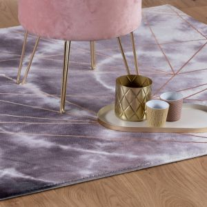 Batik BAT 155 Taupe Abstract Rug by Obsession