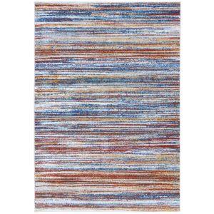 Bilal Nadia Multi Stripe Rug by Flair Rugs