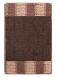 Blocks Natural Washable Mat by Rug Style