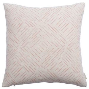 Breeze Rosa Abstract Cushion by Claire Gaudion