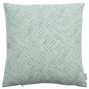 Breeze Surf Abstract Cushion by Claire Gaudion