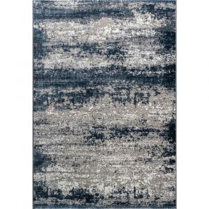 Canyon 052-00595747 Blue Beige Contemporary Abstract Rug by Mastercraft
