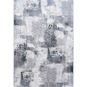 Canyon 052-00623676 Grey Contemporary Abstract Rug by Mastercraft