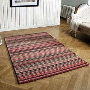 Carter Pink Wool Rug by Oriental Weavers