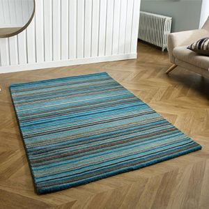Carter Teal Wool Rug by Oriental Weavers
