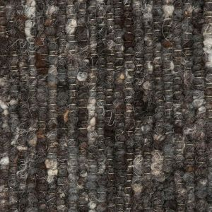 Catania 083 Charcoal Wool Rug by ITC