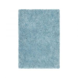 Chicago Duck Egg Polyester Plain Rug by Origins