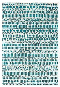 Ciottoli Jade Handtufted Wool Rug by William Yeoward