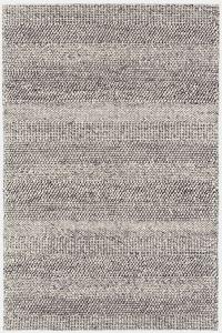 Coast CS07 Grey Marl Stripe Rug by Katherine Carnaby