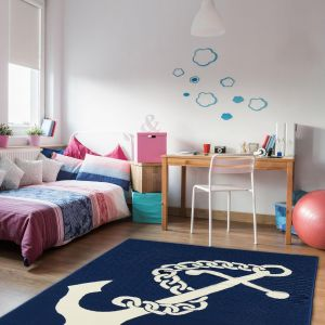 Coastal Living Anchor Navy Rug By Floorita 1