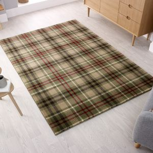 Cocktail Highland Green Rug by Flair Rugs