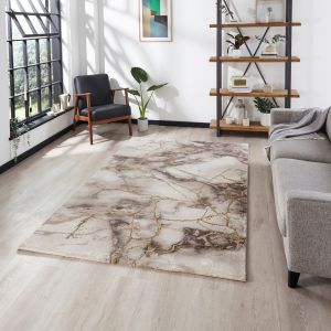 Craft 23270 Beige Gold Rug by Think Rugs