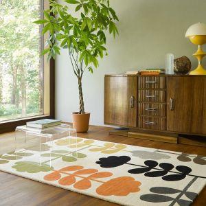 Cut Stem 061405 Multi Wool Rug by Orla Kiely