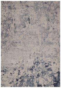 Dara Abstract Blue Rug by Asiatic