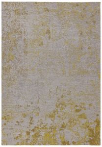 Dara Abstract Ochre Rug by Asiatic