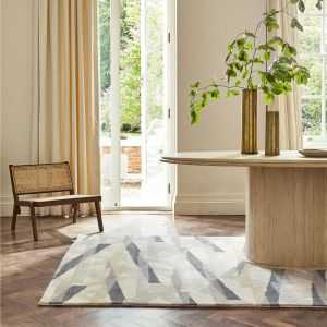 Diffinity 140001 Oyster Handtufted Wool Rug by Harlequin
