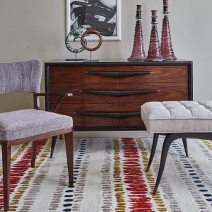 Draxon Russet Handtufted Wool Rug by William Yeoward
