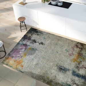 Easy Care Jazz Multi Abstract Rug by Floorita