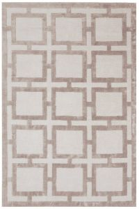 Eaton Biscuit Geometric Rug by Katherine Carnaby