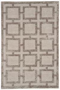 Eaton Mocha Geometric Rug by Katherine Carnaby