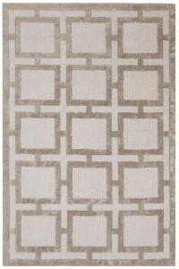 Eaton Sand Geometric Rug by Katherine Carnaby