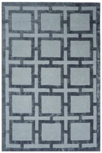 Eaton Storm Geometric Rug by Katherine Carnaby
